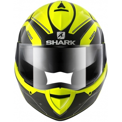 SHARK přilba EvoLine3 Hataum Hi-Viz yellow/black/anthracite