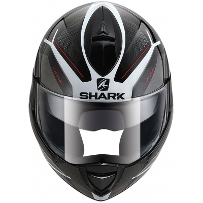 SHARK přilba EvoLine3 Hataum black/white/red