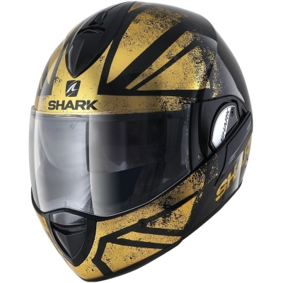 SHARK přilba EVOLINE 3 Tixer black/gold