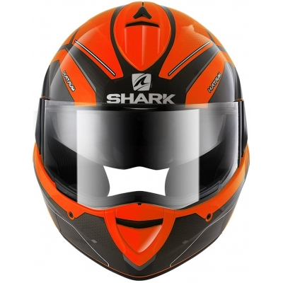 SHARK přilba EVOLINE 3 Hataum Hi-Vis orange/blac/antraite