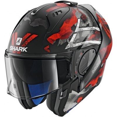 SHARK přilba EVO-ONE 2 Skuld black/red/white