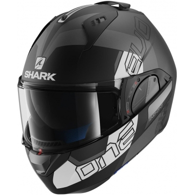 SHARK přilba EVO-ONE 2 Slasher black/antracite/ white