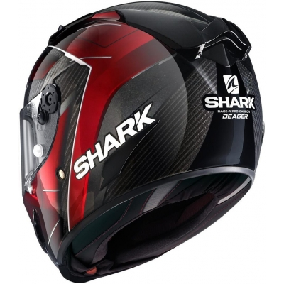 SHARK přilba RACE-R PRO CARBON Deager carbon/chrom/red
