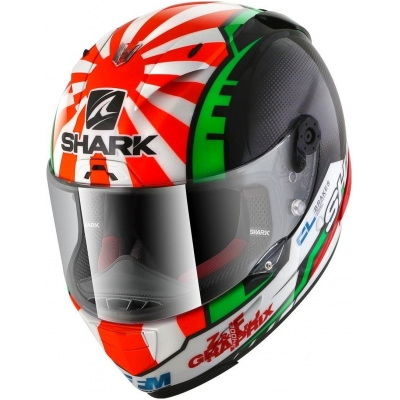 SHARK přilba RACE-R PRO Zarco replica 2017 black/red/green