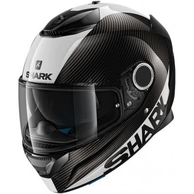 SHARK prilba SPARTAN CARBON Skin carbon / white / silver