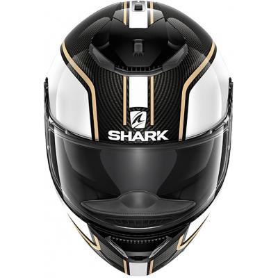 SHARK přilba SPARTAN CARBON Priona white/carbon/gold