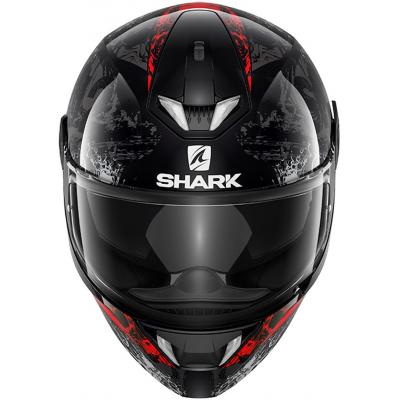 SHARK prilba SKWAL 2 Nuk'Hem black / antracite / red