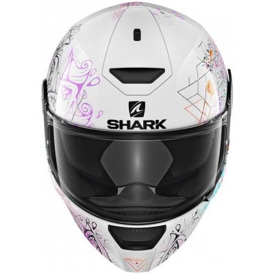 SHARK přilba D-SKWAL Anyah black/white/violet