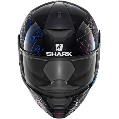 SHARK prilba D-SKWAL Anyah black / white / blue