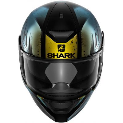 SHARK přilba D-SKWAL Dharkov mat black/green/glitter