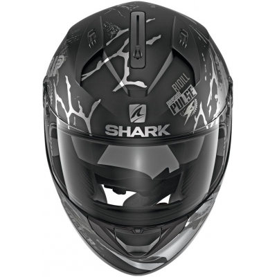 SHARK prilba RIDILL Drift-R black / antracite / silver