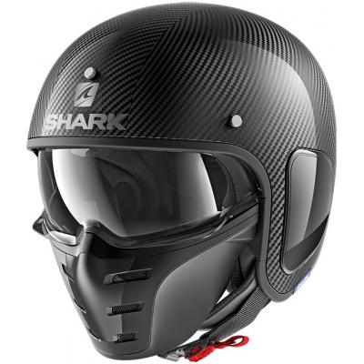 SHARK prilba S-DRAK Carbon Skin carbon / silver / black