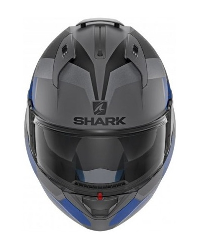 SHARK přilba EVO-ONE 2 Slasher Mat anthracite/black/blue