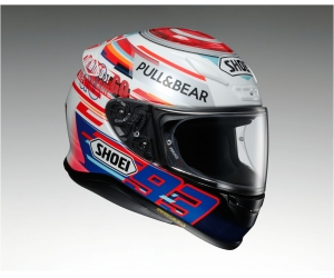 SHOEI přilba NXR Marquez Power up! TC-1