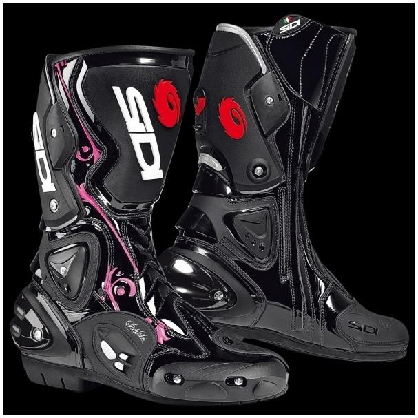 5cf0aa429b5 SIDI - Dámské silniční motocyklové boty VERTIGO LEI - černo-růžové ...