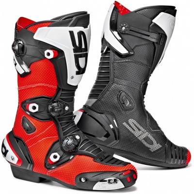 SIDI topánky MAG-1 AIR red fluo/black