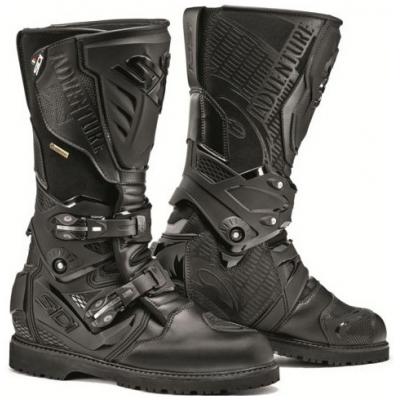 SIDI topánky ADVENTURE GTX 2 black/black - VYSTAVENÉ