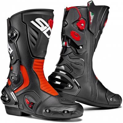 SIDI topánky VERTIGO 2 black/fluo red