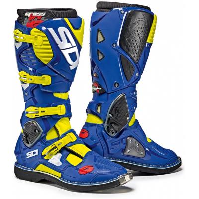 SIDI topánky CROSSFIRE 3 yellow fluo / blue