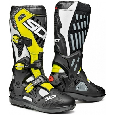 SIDI boty ATOJO SRS white/black/yellow fluo
