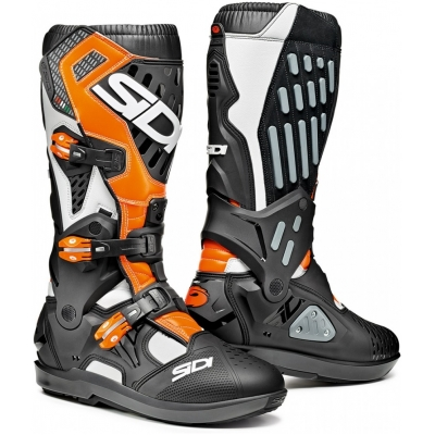 SIDI boty ATOJO SRS white/black/orange fluo