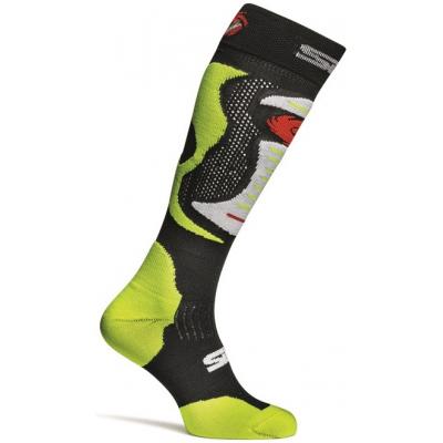 SIDI ponožky Faenza fluo yellow