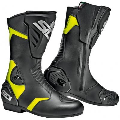 SIDI boty BLACK RAIN black/yellow