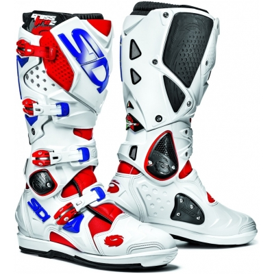 SIDI boty CROSSFIRE 2 SRS red/white/blue