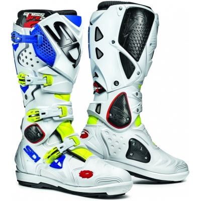 SIDI boty CROSSFIRE 2 SRS yellow fluo/white/blue