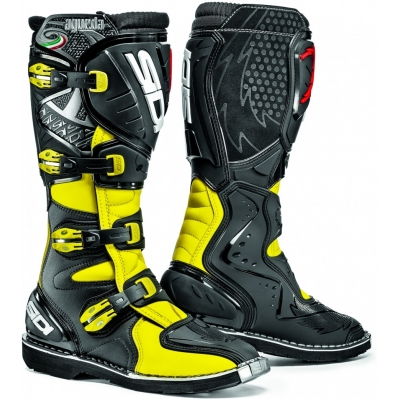 SIDI topánky AGUEDA black / fluo yellow