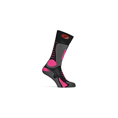 SIDI ponožky TONY black / pink
