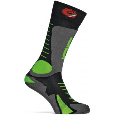 SIDI ponožky TONY black / green