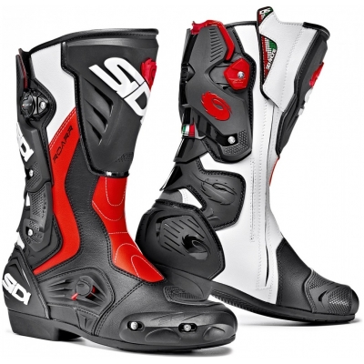 SIDI boty ROARR black/red fluo/white