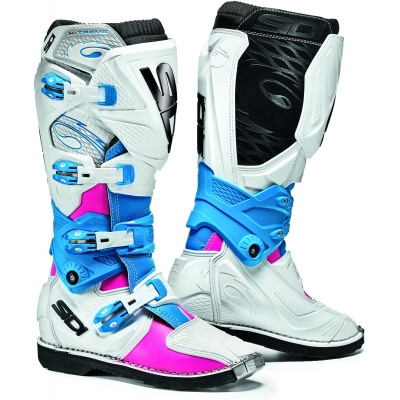 SIDI boty X-3 LEI dámské pink/white/light blue