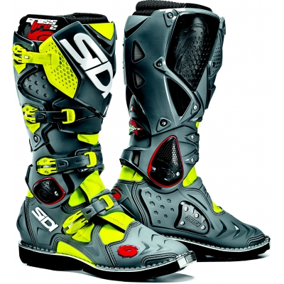 SIDI boty CROSSFIRE 2 fluo yellow/grey