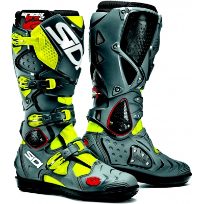SIDI topánky CROSSFIRE 2 SRS fluo yellow/grey