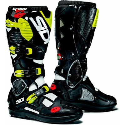 SIDI boty CROSSFIRE 3 SRS white/black/fluo yellow