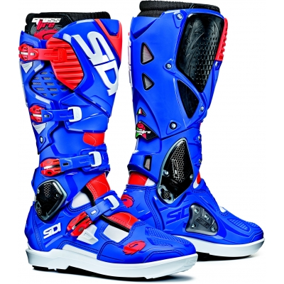 SIDI boty CROSSFIRE 3 SRS white/blue/fluo red