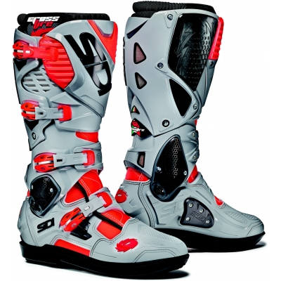 SIDI topánky CROSSFIRE 3 SRS fluo red/ash