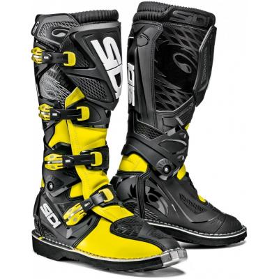 SIDI topánky X-3 fluo yellow/black