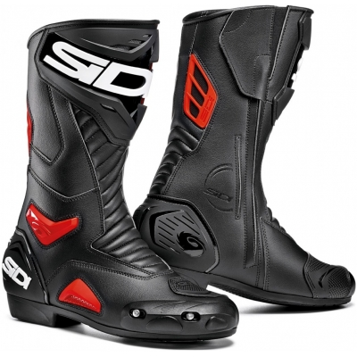 SIDI topánky PERFORMER black / red
