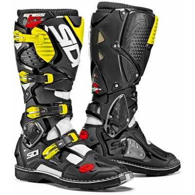 SIDI boty CROSSFIRE 3 white/black/yellow fluo