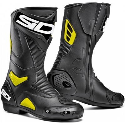 SIDI topánky PERFORMER black/fluo yellow