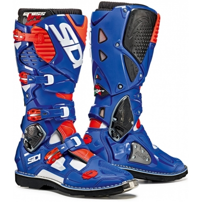 SIDI boty CROSSFIRE 3 white/blue/red fluo