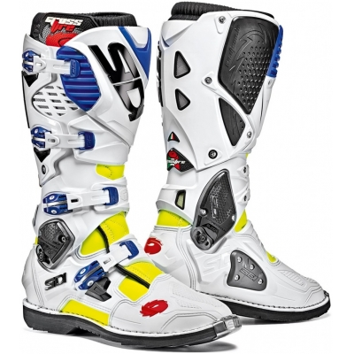SIDI boty CROSSFIRE 3 yellow fluo/white/blue