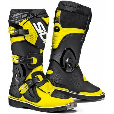 SIDI boty FLAME dětské yellow fluo/black