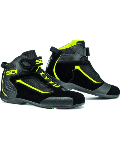 SIDI boty GAS black/black/yellow