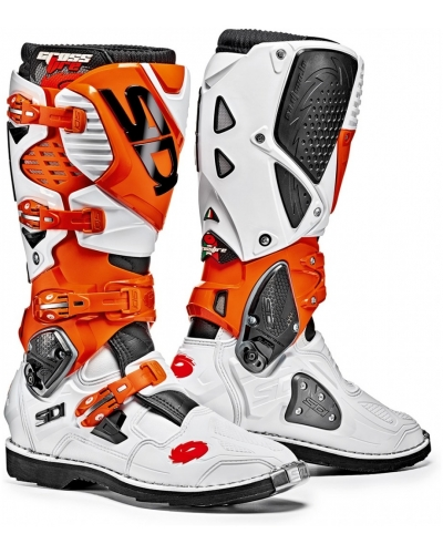 SIDI boty CROSSFIRE 3 white/orange/black
