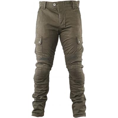 SNAP INDUSTRIES kalhoty jeans CARGO Short khaki