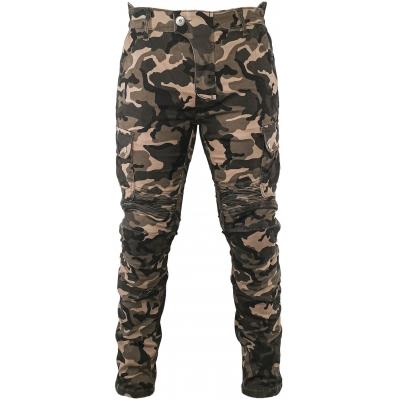 SNAP INDUSTRIES kalhoty CARGO camo